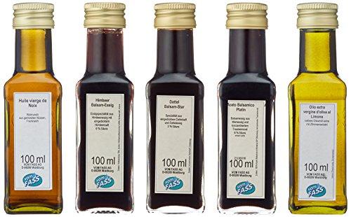Vom Fass Probier und Geschenkset - Kleine Essig- und Öl-Vielfalt, 1er Pack (1 x 500 ml)