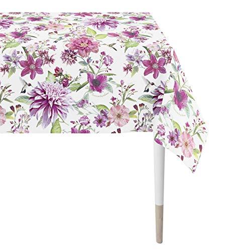 Apelt 7305 Tischdecke l Sommerblumen l Pink Grün l 150x250cm