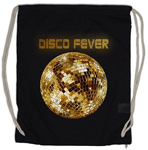 DISCO LIGHT II Bolsa de cuerdas con Cordón Gimnasio Retro Oldies Music...