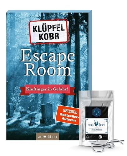 Escape Room - Set: Klöpfel Kobr - Kluftinger in Gefahr + Metall-Knobelei