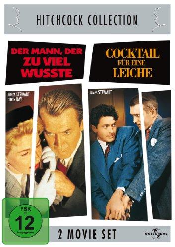 Hitchcock-Collection: Der Mann, der zuviel wußte / Cocktail für eine Leiche [2 DVDs]