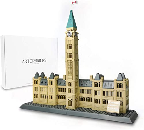 new arrival ArtorBricks Architectural Parliament Building Large Collection Building Set Model Kit and Gift sale for Kids and Adults , lowest Compatible with Lego (608 Pieces) online sale