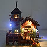 LIGHTAILING Light Set for (Old Fishing Store) Building Blocks Model - Led Light kit Compatible with Lego 21310(NOT Included The Model)