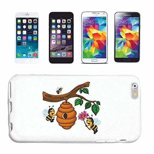 Bandenmarkt telefoonhoes compatibel met Huawei P9 leuke bijen op bijenstock WESPE honing vouwwekker hornISSE hardcase beschermhoes mobiele telefoon cover Smart Cover