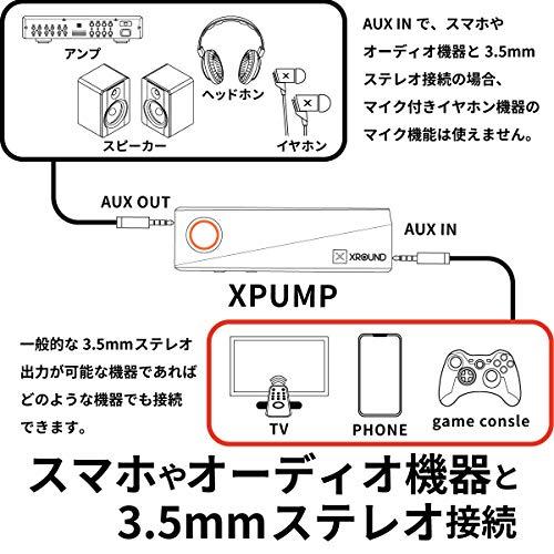 XROUND(エックスラウンド)『XPUMP』