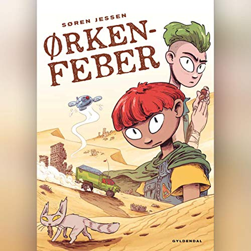 Ørkenfeber audiobook cover art