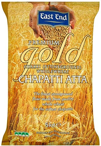 East End Premium Gold Chakki Atta Chapatti Harina 5 kg
