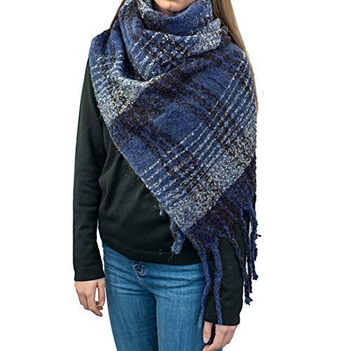 Miss Lulu nappe morbido donne sciarpa grandi avvolgere scialle Donne Ragazze Moda Autunno Inverno Caldo