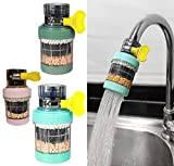 Faucet Mount Filters,3 Pack Faucet Water Filter...