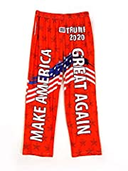 ✔ THE PERFECT PANTS FOR TRUMP SUPPORTERS … Whether you're supporting Trump 2020, sleeping or lounging around, these Trump pants will allow you to show your support! ✔ INNOVATIVE DURABLE FABRIC … Tough-wearing and great looking, these Trump pajamas ar...