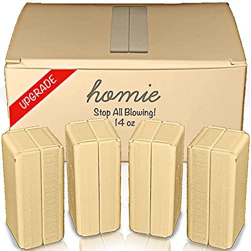 Homie Magnetischer Duschvorhang Gewichte aus Wasserdichten Magneten + Tragetasche, tolle Wohnkultur für Badezimmer, Liner, Flaggen & Transparente, Clip auf der Unterseite (Beige)