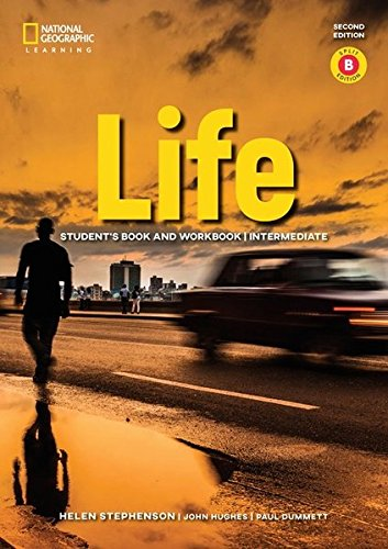 Life - Second Edition: B1.2/B2.1: Intermediate - Student's Book and Workbook (Combo Split Edition B) + Audio-CD + App: Unit 7-12 [Lingua inglese]