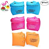 PVC Arm Floaties Inflatable Swim Arm Bands Floater Sleeves Swimming Rings Tube Armlets