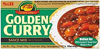 S&B Golden Curry Medium/Hot 100g