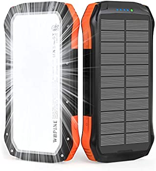 WBPINE 20100mAh External Battery Pack with 2 USB Output Ports