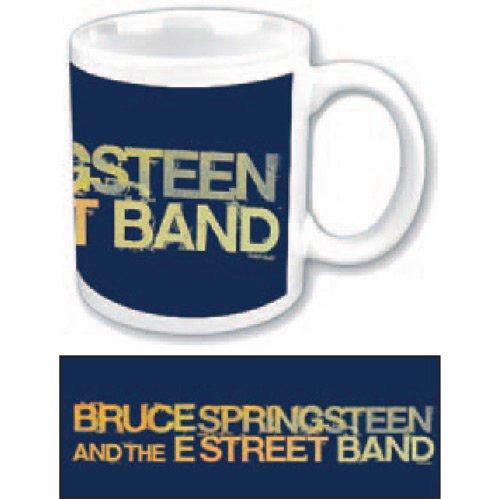 Kaffeetasse Yellow Logo Bruce Springsteen