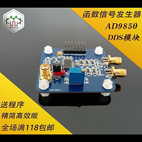 Read About Diybigworld AD9850 module DDS function signal generator to send the program compatible wi...