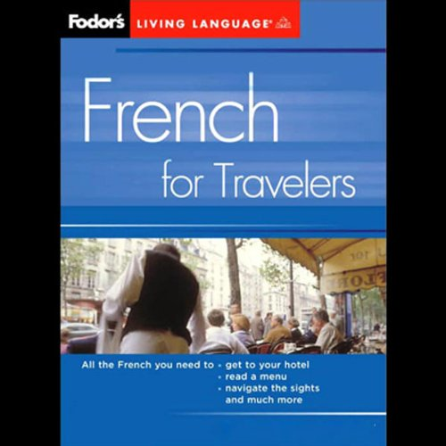 Fodor's French for Travelers audiobook cover art