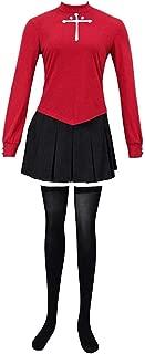 Fate Stay/Night Rin Tohsaka Cosplay Costume for Women
