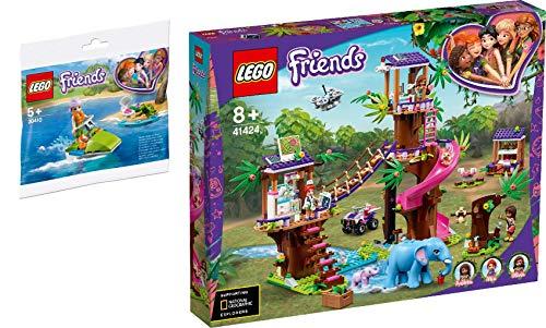 Steinchenwelt Friends 2er Set: 30410 Mias Schildkröten-Rettung + 41424 Tierrettungsstation im Dschungel