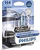 WhiteVision ultra effetto Xenon H4 lampada fari, 4.200K, blister singolo