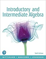 Introductory and Intermediate Algebra, 6th Edition Front Cover