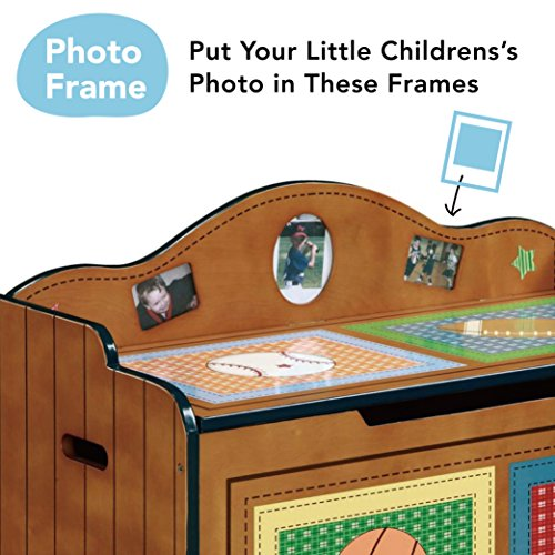 Fantasy Fields Children Transportation Kids Holz-SpielzeugkisteStorage W-9940A - 4