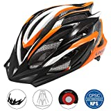 Lixada Cycle Helmet, Mountain Bicycle Helmet 25 Vents Adjustable Comfortable Safety Helmet for Outdoor Sport...