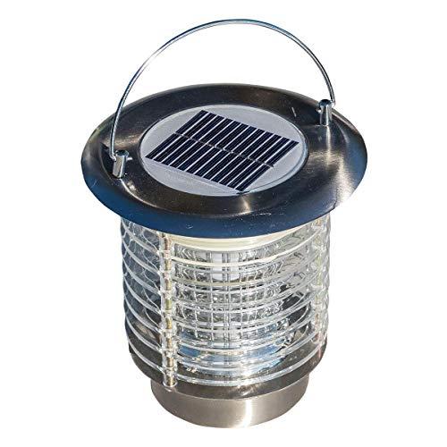 Lanterne sans fil solaire 2 en 1 anti-moustique et...