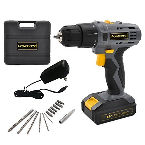 Uniteco 20V Brushless Cordless Drill Set with 2-Speed Design High Torque High Speed 1850rpm High Efficiency D013