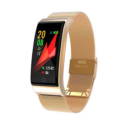 Fitness-Tracker Aktivitäts-Sportarmband für Herren Damen mit Schrittzähler wasserdicht IP67 Herzfrequenz-Monitor Schlaf-Tracker Anruf-Text-Erinnerung kompatibel mit iOS- und Android-Handys