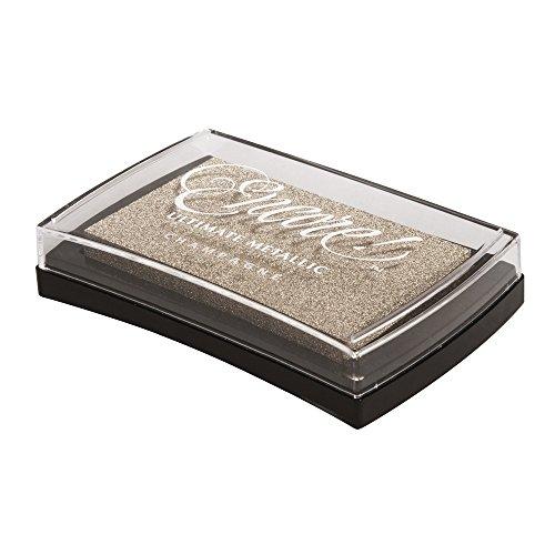 RAYHER HOBBY 29016617Encore Tampón de Tinta, plástico, champán Oro, 9,4x 6,6x 2cm