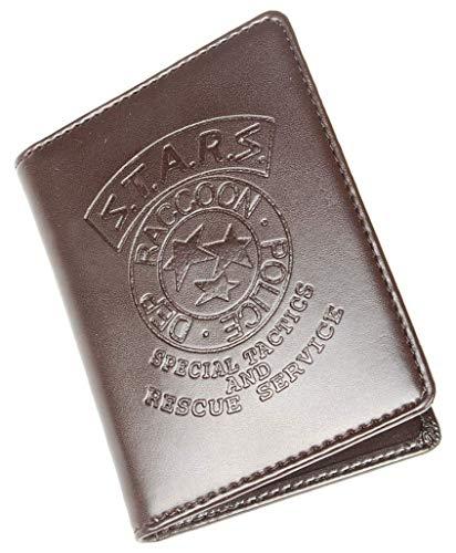 Resident Evil Biohazard S.T.A.R.S RPD Jill Valentine Ausweis-& Kartenhüllen Brieftasche | Leon Chris Wesker Kostüm Cosplay