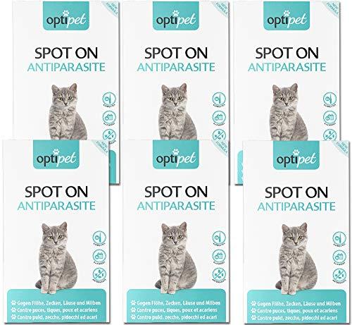 OptiPet Spot On 36x1ml Pipetten für Katzen
