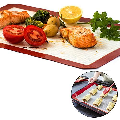 Dyyicun12 Pad Sheet Liner Siliconen Deeg Rolling Mat Baking Mat Pastryanti-aanbakplaat Black Ba-cq1609