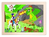 Woodyland Príncipe Bajaja Jigsaw Puzzle de Madera