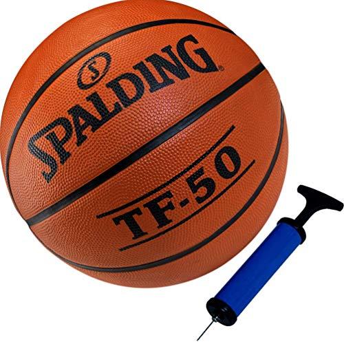 Spalding Kinder Basketball Größe 3 inklusive Ballpumpe
