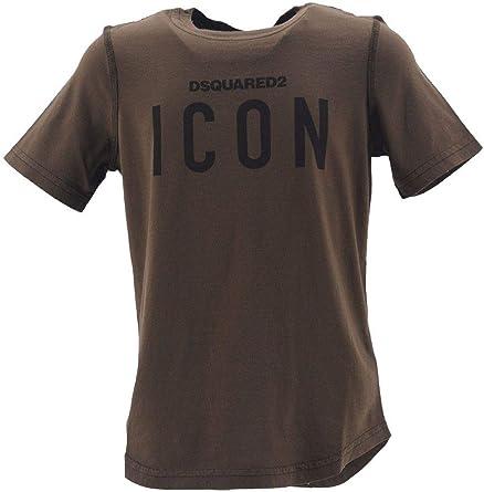 DSQUARED2 Camiseta para niño de manga corta con impresión Icon