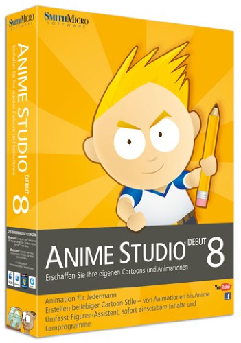 Anime Studio Debut 8 Mac/Win