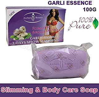 Aichun 100% Pure Garlic Essence Lose Weight Loss Slimming Body Soap Fat Burning Effective Slim Cream 100g
