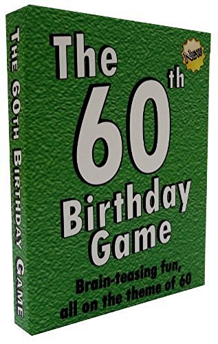 The 60th Birthday Game. Fun new 60th birthday party game...