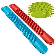 Spiky Slap Bracelets / Slap Bands (3 Pack) - Great Sensory Toys / Fidget Toys - BPA/Phthalate/Latex-Free