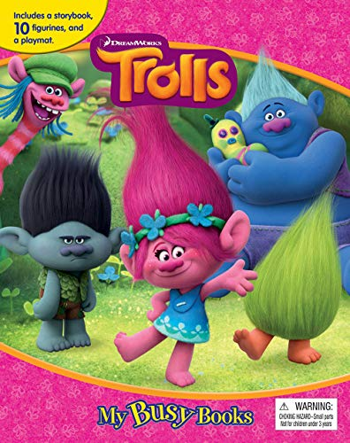 Compare Textbook Prices for DreamWorks Trolls My Busy Book Clr Csm Edition ISBN 9782764333150 by Phidal Publishing Inc.
