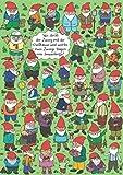 Charis Bartsch Nr. PV6439'Wo steckt der Zwerg.?' Postkarte Größe: 10,5x15 cm