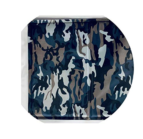 Pet Cooling Mat Non Toxic Pet Cooling Pad Cushion Summer Dog Cool Mat Bed Soft Cool Cat House Mat Pet Bed Cooler Mat Pad Gel,Camouflage,30x40cm