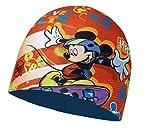 Buff Kinder-Mütze + Ultrapower Schlauchtuch | Wintermütze | Funktionsmütze | Child Microfiber Polar Hat Licenses SK8 RED | 113265.425.10