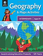 Geography & Maps Activities, Intermediate | Ages 9+ PDF