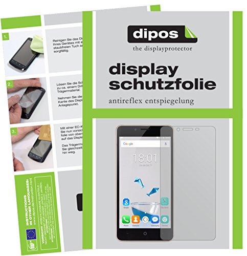 dipos I 2X Schutzfolie matt kompatibel mit Leagoo Kiicaa Power Folie Displayschutzfolie
