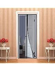 Magnetisch vliegengaas voor balkondeuren 90 x 220 cm   35 x 87 inch muggennet voor deuren, magnetisch vliegengaas voor insectenbescherming, gordijn, magneetgordijn