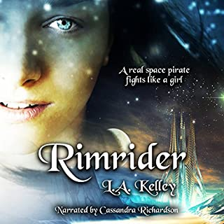 Rimrider audiobook cover art